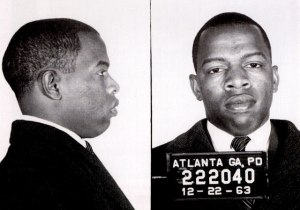 One of Congressman Lewis' mugshots.